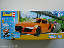 Audi R8 Revell auto modelo equipo art. 06111 Build & Play