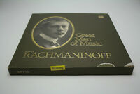 Time Life Records Great Men Of Music Sergei Rachmaninoff STL-566 4 LP set