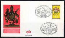 Germany 1979 cover SST Sonderstempel Leverkusen Najubria'79 exhibition