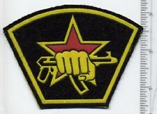 RUSSIAN MILITARY SLEEVE PATCH SPECIAL FORCES SPETSNAZ KALASHNIKOV AK-74 RED STAR