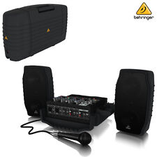 Behringer EUROPORT PPA200 200W 5-Channel Portable PA System l Authorized Dealer