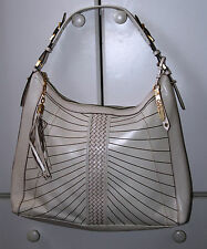 COLE HAAN Women's Leather Shoulder Bag in Ivory (Preowned)