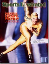 February 11, 1980 Eric Heiden Speed Skating SPORTS ILLUSTRATED NO LABEL