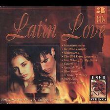 101 Strings Orchestra : Latin Love CD
