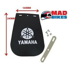 YAMAHA LOGO MOTORCYCLE MUD FLAP LARGE 140mm X 240mm