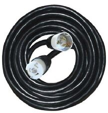 Voltec 09-00431 6/3, 8/1 SEOW Temporary Power Cord, 50-Foot, Black