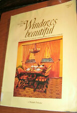 HOW TO MAKE YOUR WINDOWS BEAUTIFUL  vol IV by KIRSCH PUBLICATIONS 1995 PB
