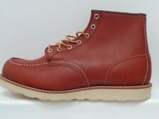 RED WING MENS ORO LEGACY 6 INCH MOC TOE BOOT UK 11 USA 12 EUR 46 REF 582^