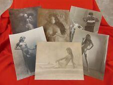 Hendrickson ORIGINAL PHOTO LOT of 6 Nude ladies