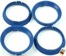 4x Zentrierringe 63 3 - 57 1 / 63,3mm auf 57,1mm Blau kompatibel mit VW Seat Sko