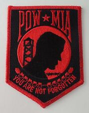 Pow Mia Embroidered Patch Badge