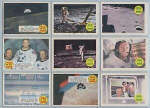 Trade Cards - Man On The Moon (A. & B.C. Gum) - 38 Cards