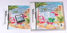Jeu: Happy Hippo 's faire le tour du monde pour Nintendo DS + Lite + DSI + xl + 3ds