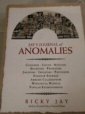 Jay's Journal of Anomalies : Conjurers Cheats Hustlers Hoaxsters Pranksters