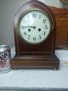 Waterbury Clock Co. Beehive Mantel Shelf Clock Leeds with tag A Beauty Look