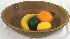 Natural Wood Bowl Wooden Fruit Basket Home Decor Ornament