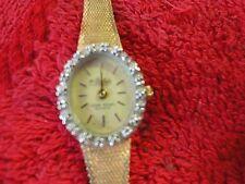 Dufonte lucien piccard women's quartz dress watch w/ diamonds