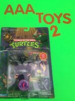 TMNT SUPER SHREDDER Figure Playmates Teenage Mutant Ninja Turtles Purple Card