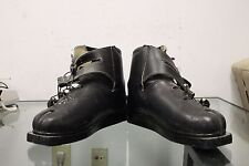 VINTAGE HOCHLAND WEST GERMANY DOWNHILL CROSS COUNTRY SKI BOOTS LEATHER Size 11
