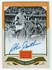 2012 Golden Age Historic Signature Autograph Steve Cauthen Triple Crown Jockey