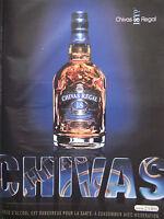 PUBLICITÉ DE PRESSE 2007 CHIVAS REGAL SCOTCH WHISKY - ADVERTISING
