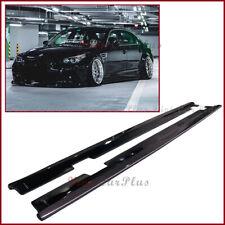 Carbon Fiber Side Skirt Extend Lip VP Type For BMW 06-10 E60 Sedan M5 Model Use