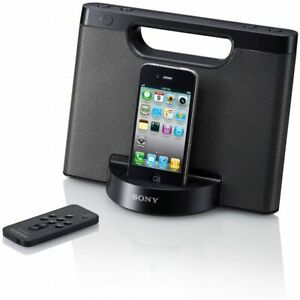 Sony RDP-M5iP 30-Pin iPhone iPod Portable Stereo Speaker Dock