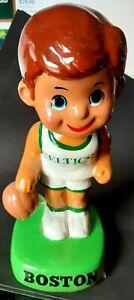 1970s Boston Celtics Bobblehead Nodder Lil Dribbler, Great Original Shape!
