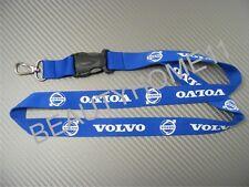 Blue VOLVO Lanyard Neck Strap Keys Phone ID Holder
