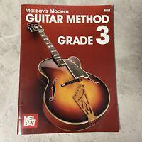 Mel Bay's Modern Guitar Method Grade Three Book