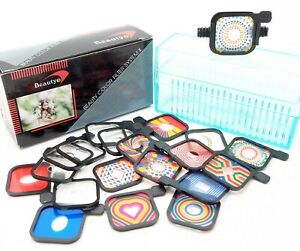 BEAUTY COLOUR FILTER SYSTEM II for COMPACT CAMERAS - UK DEALER