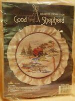 "Good Shepherd Counted Cross Stitch Kit DMC ""Rustic Mill"" New in Pkg"
