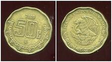 MEXIQUE  50 centavos  2005