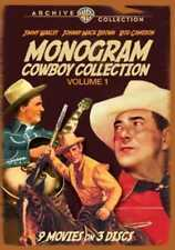 Monogram Cowboy Collection, Volume 1 (3-Disc) NEW DVD