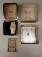 Vintage Remington Speedak Model A Bridgeport, Conn. Electric Shaver With Box
