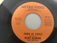 """VELVET ILLUSIONS """"TOWN OF FOOLS"""" ORIG US 1967 PSYCH"""