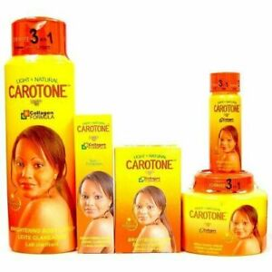 Carotene Light & Natural Brightening SET (5-PACK)