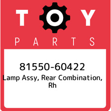 81550-60422 Toyota Lamp assy, rear combination, rh 8155060422, New Genuine OEM P