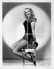 GORGEOUS ACTRESS LORRAINE MILLER STUNNING!! LEGGY FISHNETS SEXY 8X10 PHOTO A-LM1