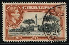 GIBRALTAR 1938 STAMP Sc. # 115a PERF. 14 USED