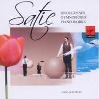 ANNE QUEFFÉLEC - GYMNOPEDIES & GNOSSIENNES - ERIK SATIE KLAVIER ORCHESTER CD NEW