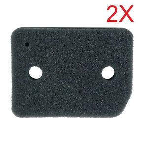 2X Tumble Dryer Foam Filter For Miele 9164761 TKL TKR TKS 10035635 4054905442652