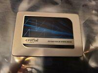 Crucial MX300 1TB  SATA III 2.5'' SSD - 8hrs Use / 100% Life - CT1050MX300SSD1