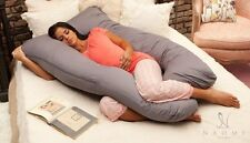U Shaped Premium Contoured Body Pregnancy / Maternity Pillow w/ Zippered Cover