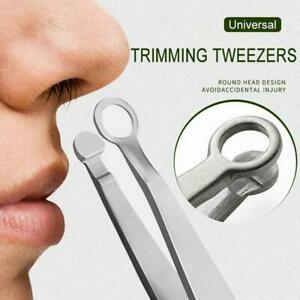 5X Universal nose hair clip round tip clip steel clip for hair removal