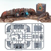 --- sector mechanicus SACRISTAN FORGESHRINE CONTROL --- console battery bits 40k
