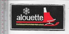 Snowmobile Alouette late 1960 to Early 1970 Dealer Patch Montreal Quebec Canada