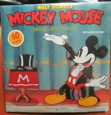 Disney Calendar Mickey Mouse Vintage Cartoon Shorts-Band Concert,Clock Cleaners,