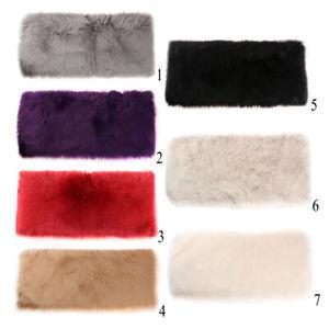 1 x Modisches Flauschiger -Läufer Mehrzweck Flecken Schutz Polyester Boden-Matte