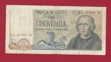 ITALY 1971 5000 LIRES